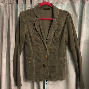 Cozy corduroy blazer